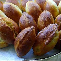 Домашние пирожки с картофелем 1шт