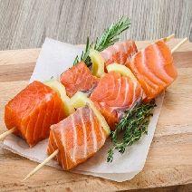 Шашлык из лосося 1 кг